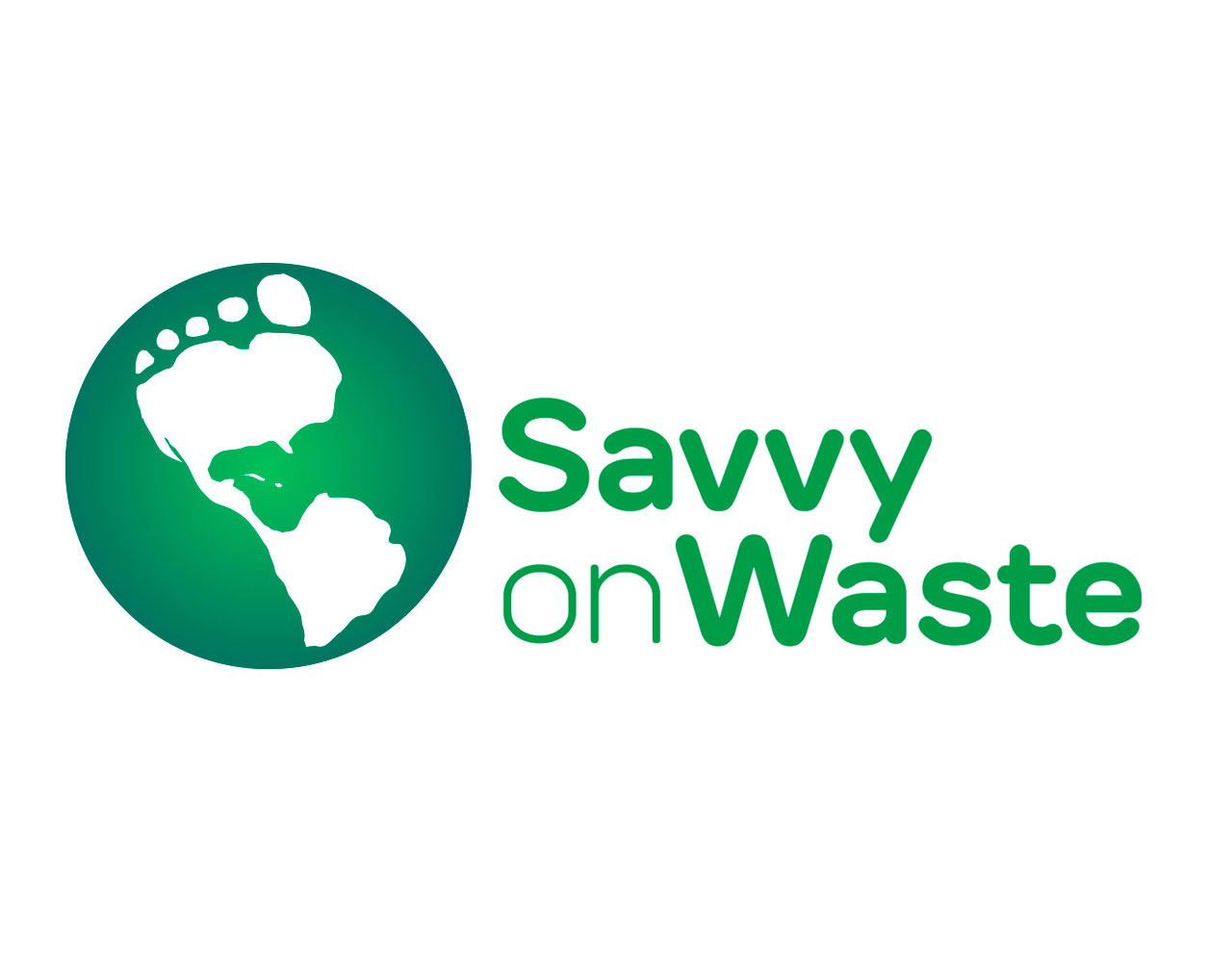 Logo Design: Savvy on Waste