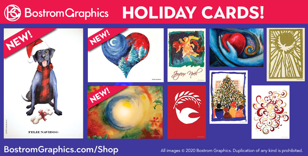 Bostrom Holiday Cards