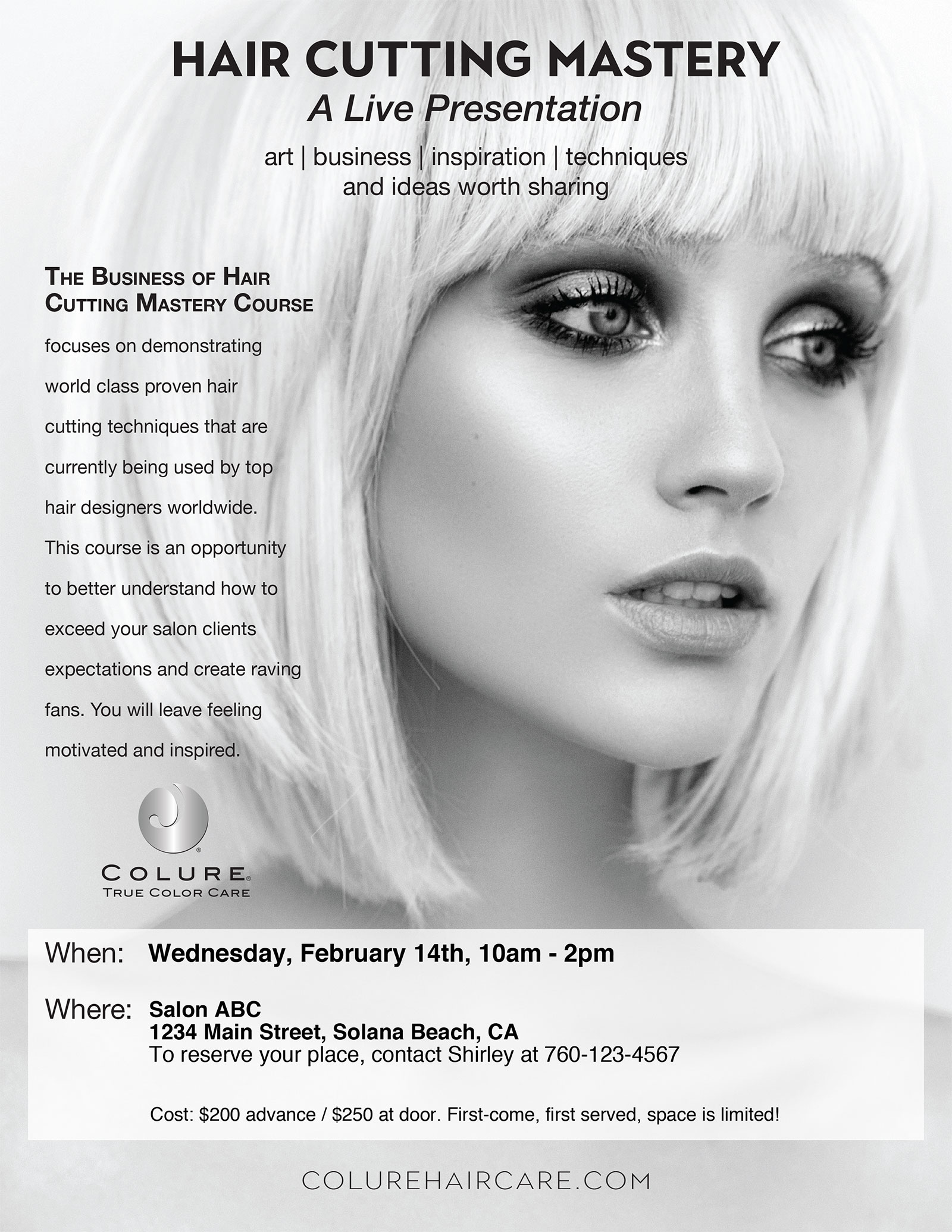 COLURE Course Flyer