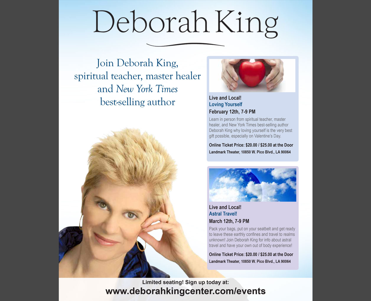 Deborah King Magazine Ad